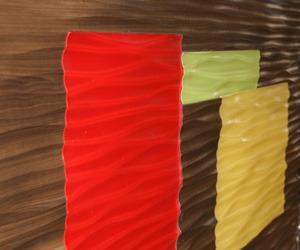Decorative Wall Surface - Textur 3D - Custom Inlay Design