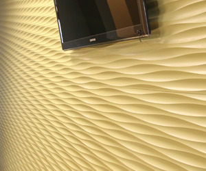 Decorative Wall Surface - Textur 3D - Onda 2 Pattern
