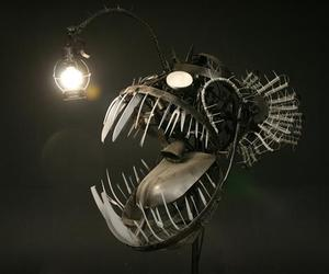 Deep Sea Angler Fish Lamp by Justin LaDoux