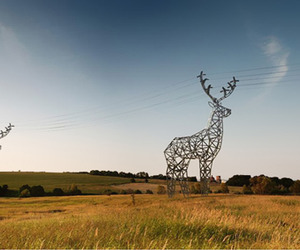 Deer Shaped Hydro Towers by DesignDepot