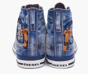 Deisel Denim Sneakers