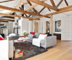 Delightful and Spacious Loft Home in Sweden