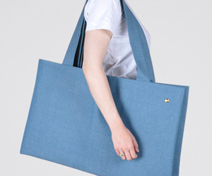 Denim Canoe Bag from Otaat