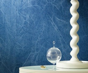 Denim Wallcovering from Weitzner Ltd.