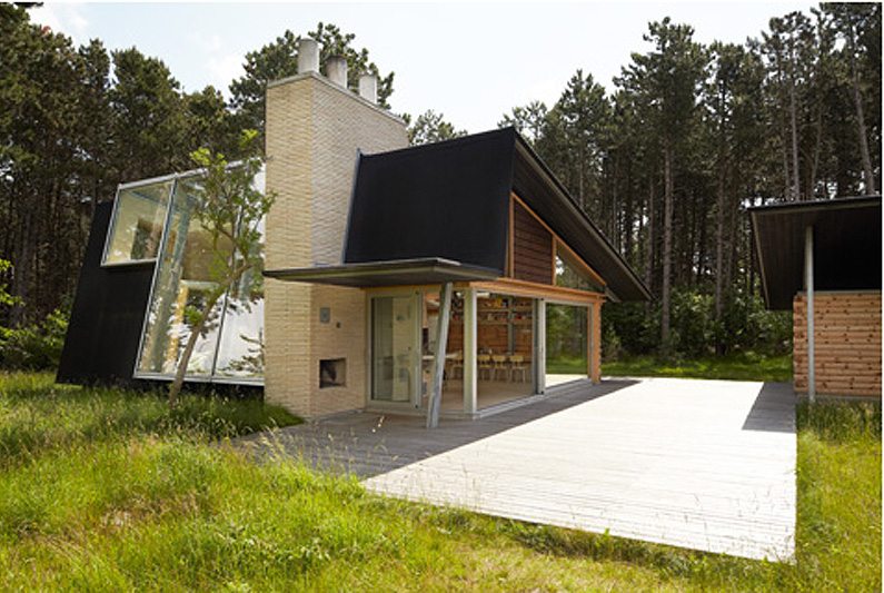 Danish House Made With 150 Local Trees By Jesper Brask