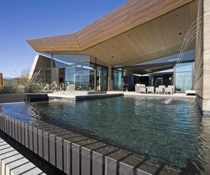 Desert Wing House in Scottsdale by Brent Kendle