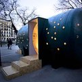 Design Pavilion Infomab10 in Madrid by Studio Kg