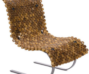 Unique Bamboo Chair Design