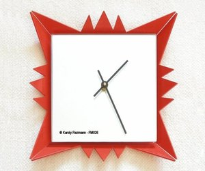 Designer Accent Mirror Clock FC026
