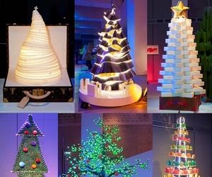Designer Christmas Trees For Paris Auction