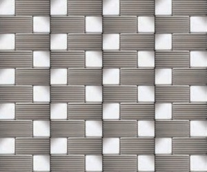 Designer Series Stainless Steel Mosaics from Neelox