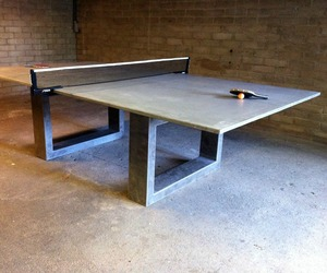 "DeWulf""s Ping Pong/Dining Table"