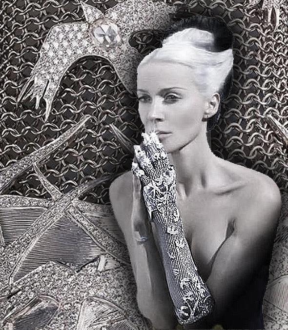 Diamond Glove By Daphne Guinness And Jeweller Shaun Leane