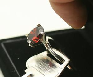 DIAMOND KEY RING by Floyd