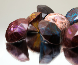 Diamond Shaped Luxury Chocolates By A Jeweler