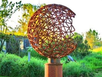 Diatom Sphere Sculpture