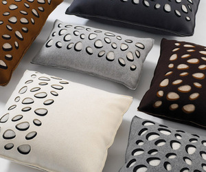 Diecut River Rock Cushions
