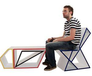Different shapes are used to form Modular Furniture