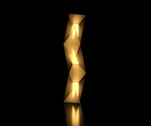 Diffractis Entwine Patent-pending Floor Lamp