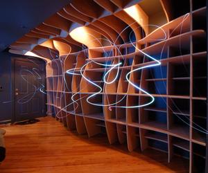 Digitally Fabricated Bookshelf by dbd Studio