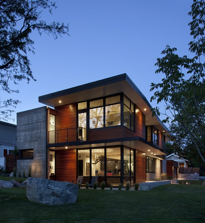 Dihedral house in boulder colorado by arch11 Window styles for contemporary homes