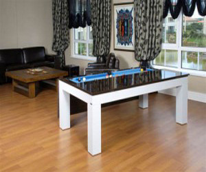 Dining Table Converts to Modern Snooker Table