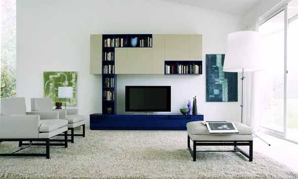 Diotti 39 s modular cabinet for Living room tv area design