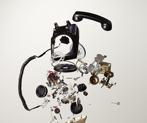 Disassembled Objects series by Todd McLellan