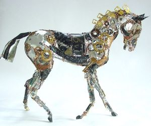 Discarded Materials Turned into Sculptures by Barbara Franc