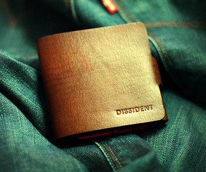 DISSIDENT Leather Wallet