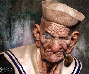"""Disturbingly Realistic"" cartoon characters"