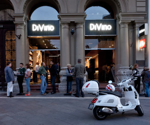 DiVino Wine Bar in Budapest by Suto Interior Architects