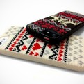 DIY Cross Stitched iPhone 5 Cases