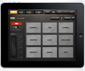 DM1 Drum Machine App for Ipad