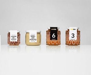 Doce Cielos Honey Packaging by Anagrama