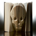 Dogeared Design. Folded Book Art.
