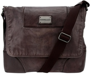 Dolce & Gabbana Leather Messenger Bag