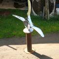Dolphin Vertebra Sculpture