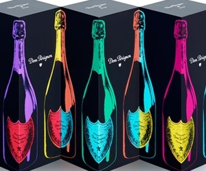 Dom Pérignon's Colorful Tribute to Andy Warhol