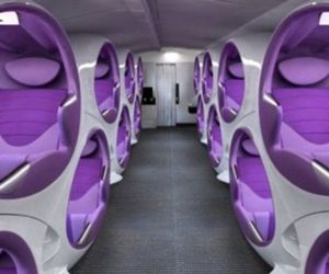 Double Decker Seating Pod For Air Craft
