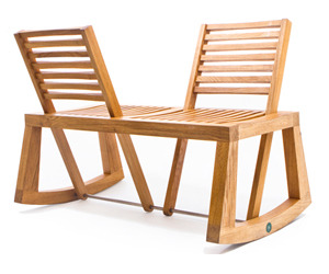 Double View Bench