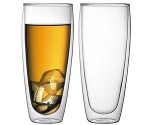 Double-Wall Thermo Cooler Glasses by Bodum