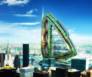 Dragonfly, Concept | Vincent Callebaut Architects