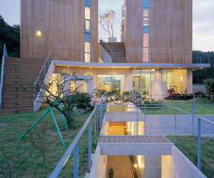 Dramatic Home with Maze-like Access + Floating Gardens