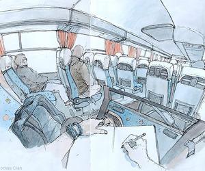 Drawings by Thomas Cian