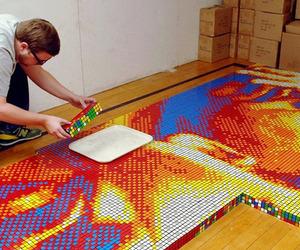 Dream Big Rubik's Cube Art by Pete Fectau