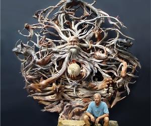 Driftwood Sculpture Artist Paul Baliker