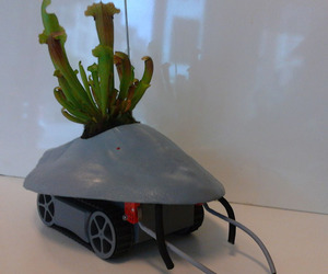 Drone That Moves Houseplants Into The Sun