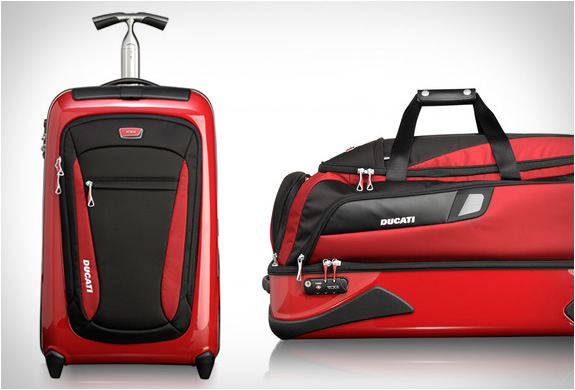Ducati Luggage Collection By Tumi