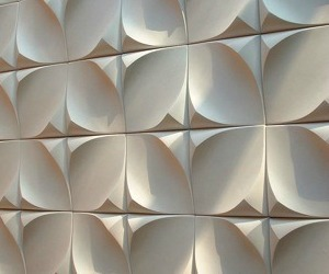 Dune, Gypsum Wall Tile from UrbanProduct